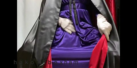 with purple dress and satin cloak(layers) Part.3(final)