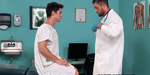 Hothouse - Doctor Gives Devin Franco A Thorough Ass Exam